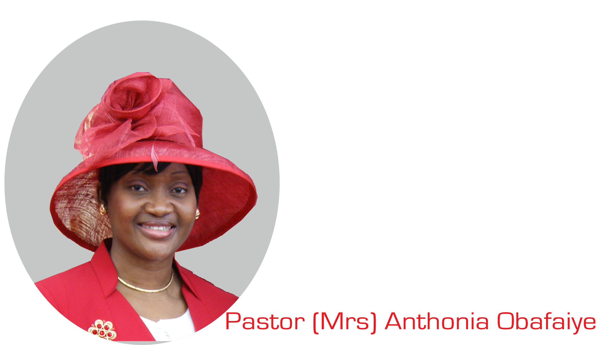 May the God of All Grace Show Up For You, by Pastor (Mrs) Anthonia Obafaiye