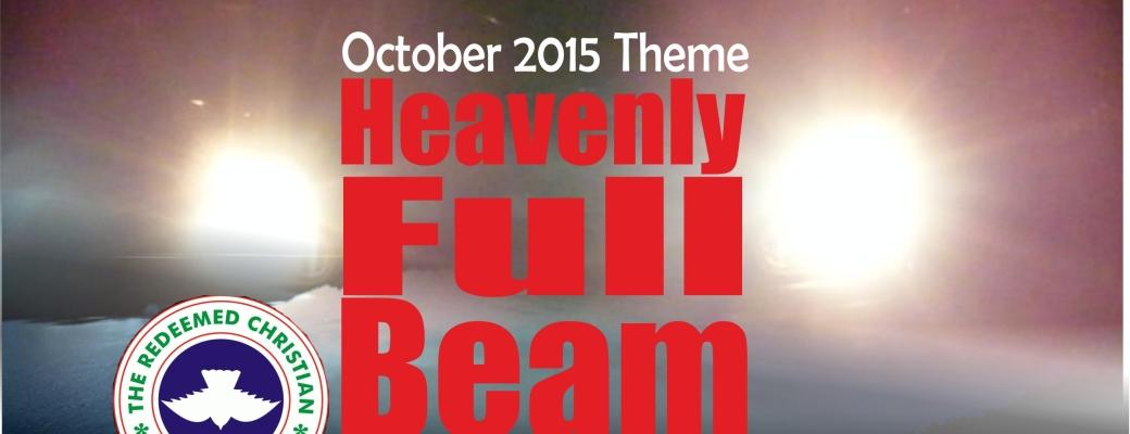 October 2015 Theme – Heavenly Full Beam