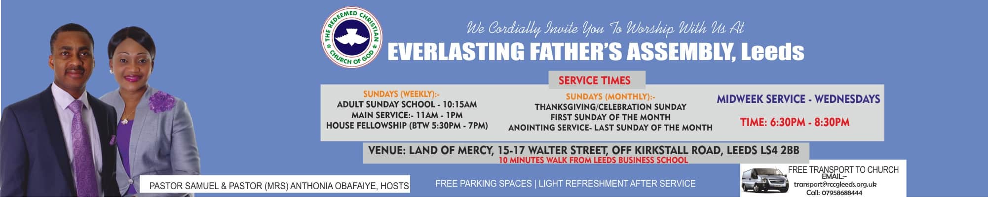 About RCCG Everlasting Father's Assembly, Leeds