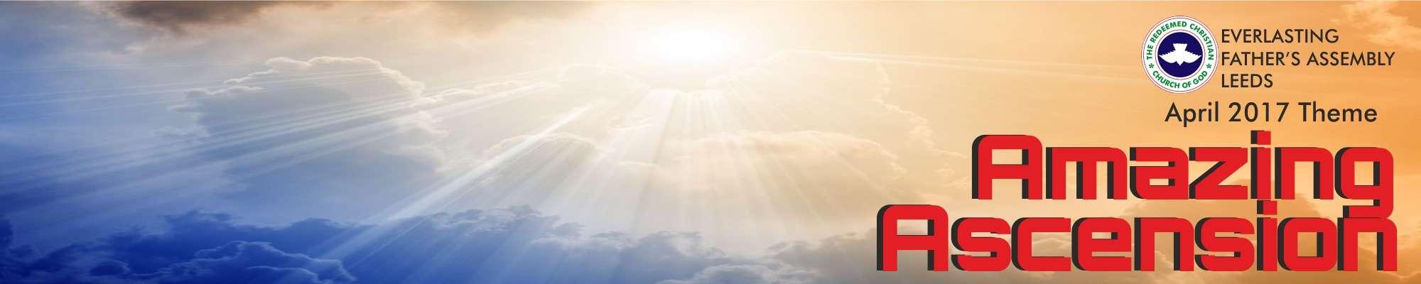 April 2017 Theme – Amazing Ascension