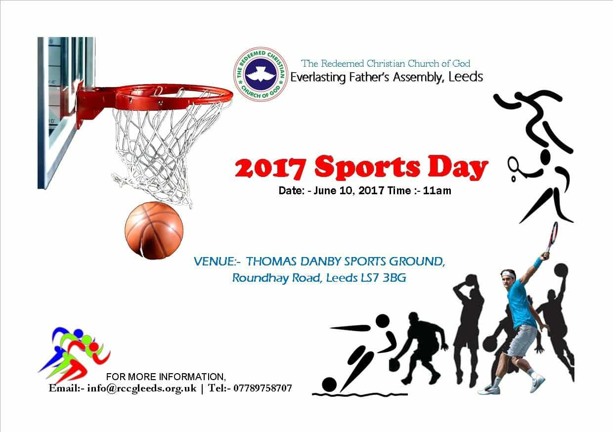 RCCG EFA Leeds 2017 Sports Day