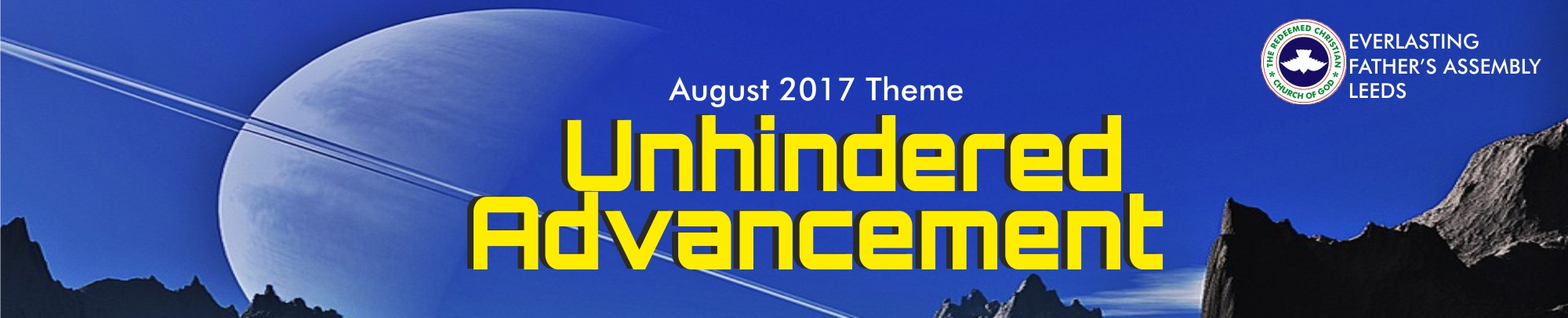 August 2017 Theme- Unhindered Advancement