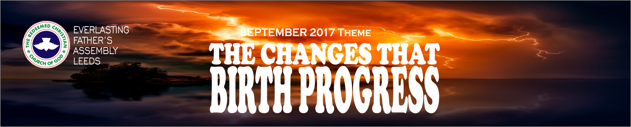 September 2017 Theme - The Changes That Birth Progress