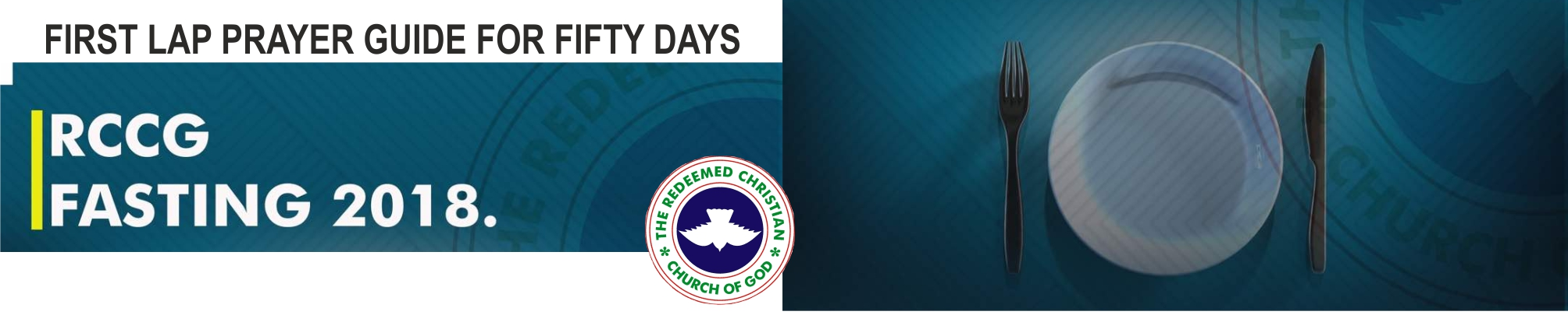 2018 RCCG First Lap Prayer Guide For Fifty Days Fasting And Prayers