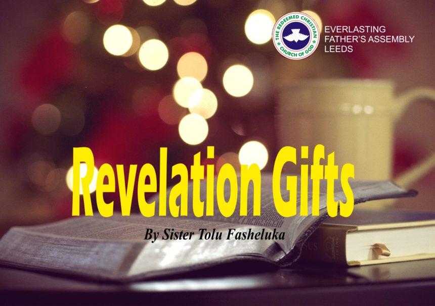 Revelation Gifts, by Sister Tolu Fasheluka