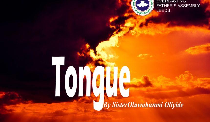 Tongue, by Sister Oluwabunmi Oliyide