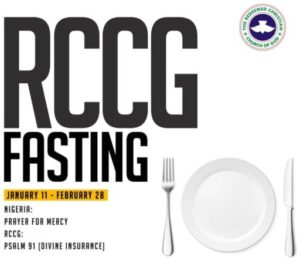2019 RCCG Forty Nine Days Fasting And Prayer Guide