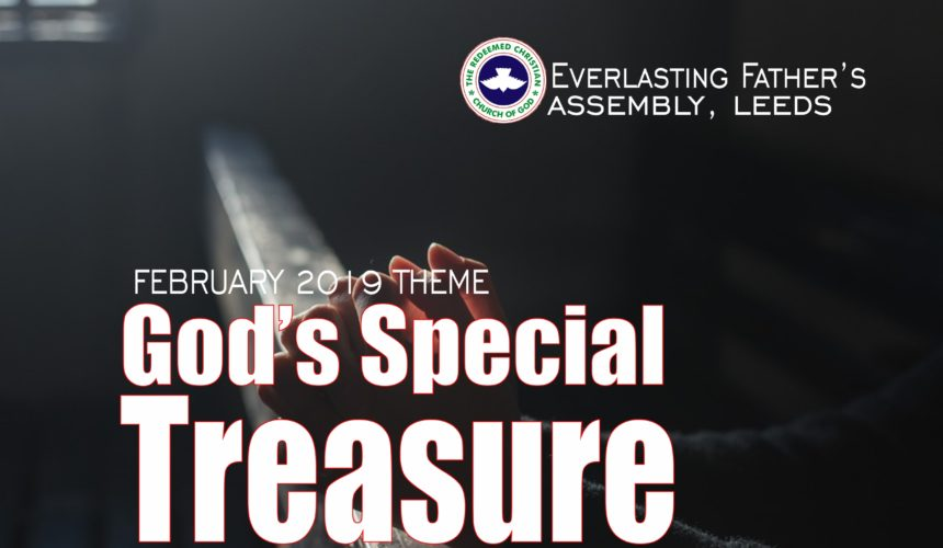 February 2019 Theme – God's Special Treasures