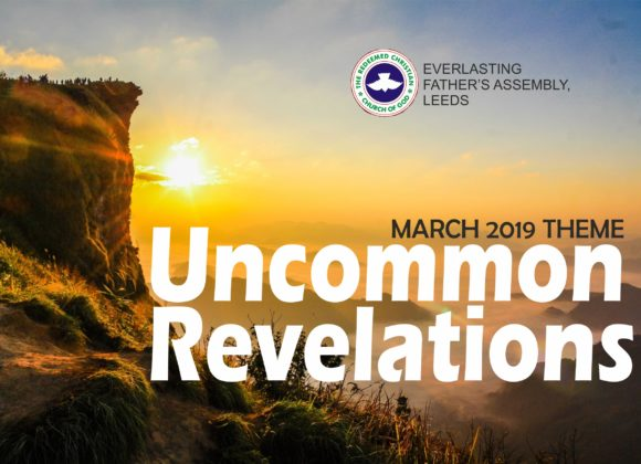March 2019 Theme – Uncommon Revelations
