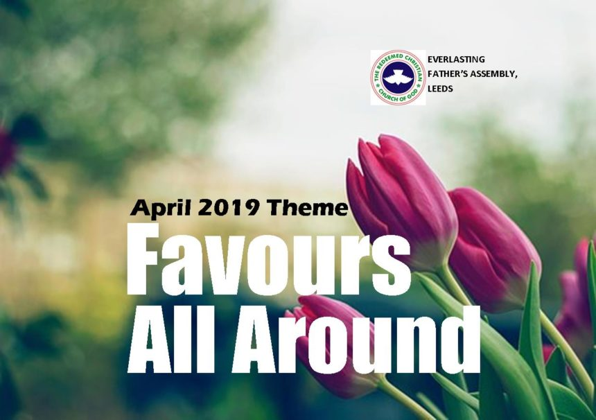 April 2019 Theme – Favours All Around