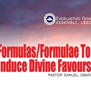 Sermons Archives - RCCG Everlasting Father's Assembly, Leeds, West