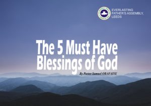 You Shall Be Above Only, by Pastor Samuel Obafaiye - RCCG